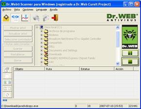 doctor web infospyware